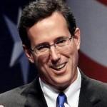 Presidenial candidate Rick Santorum