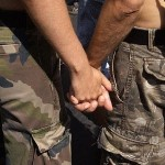 "Obama's new ""gay"" military is aggressively persecuting Christians."