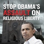 Obama is waging war against Christianity here and around the world.