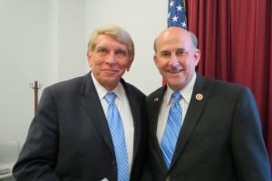 William Murray with Congressman Louie Gohmert (R-TX).