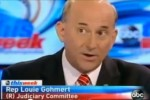 Congressman Louie Gohmert (R-TX) debates Obamacare on ABC.