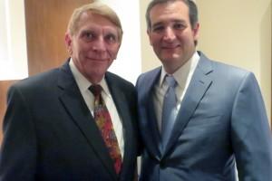 GING-PAC chairman William J Murray and Senator Ted Cruz