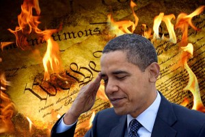 Obama is destroying the rule of law by his edicts on amnesty for illegals.