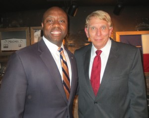 Senator Tim Scott and William Murray