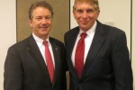 Senator Rand Paul and William J Murray.
