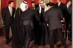 Obama bows to a Saudi Prince.