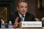 David Barron supports the droning of Americans overseas without due process.