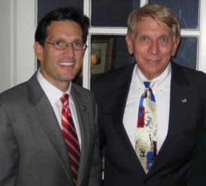 Leader Eric Cantor and William J. Murray