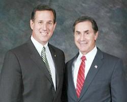 Gary Palmer and Rick Santorum.