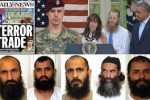Obama trades five Taliban killers for an Army deserter -- and breaks two laws doing it.