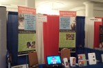 The Religious Freedom Coalition booth at the Values Voters Summit this weekend.