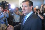Sen. Cruz speaks to reporters after the AFP Summit in Dallas.