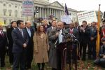 Congressman Steve King (R-IA) and others rally against Obama's latest power grab.