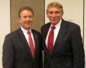 Senator Rand Paul and William J Murray
